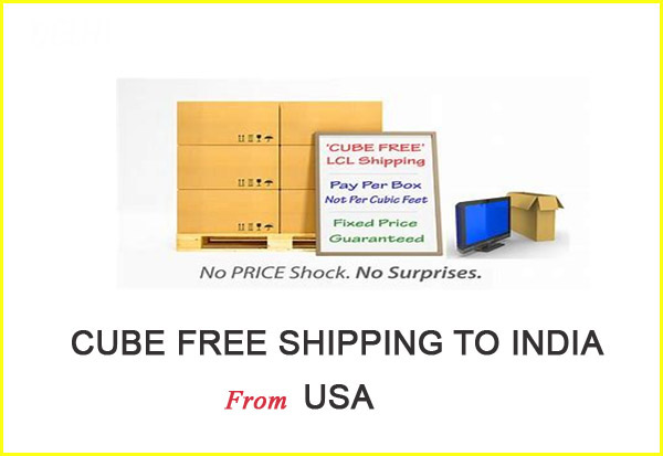 Worldwide Shipling Lines-Door to door Cube free shipping to India